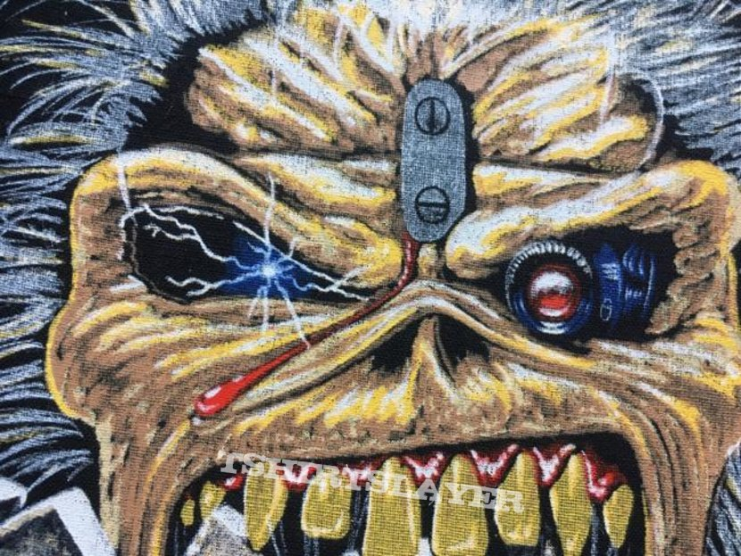 Iron Maiden - Eddie Crunch - Back Patch 1990