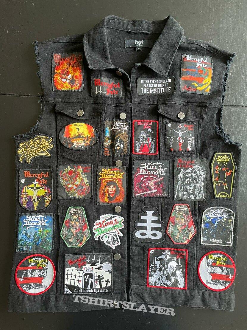 King Diamond & Mercyful Fate Dedication Battle Vest