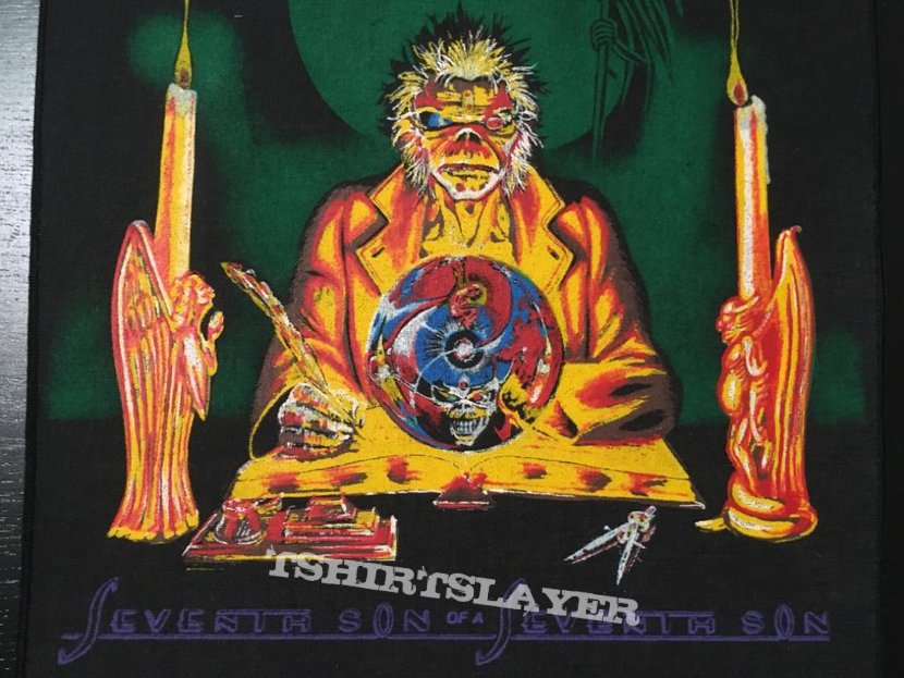 Iron Maiden - 7th Son of a 7th Son - Back Patch 1988 (Orange Version)