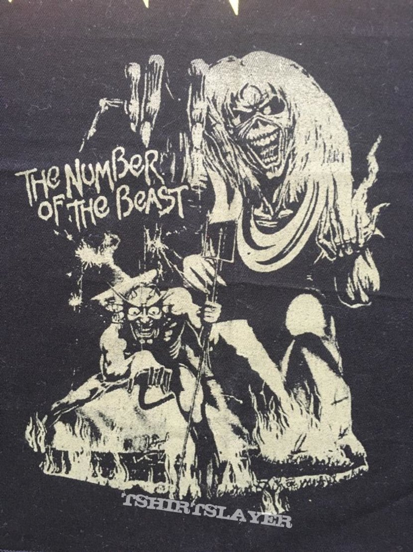 Iron Maiden - Number of the Beast - Bootleg Back Patch