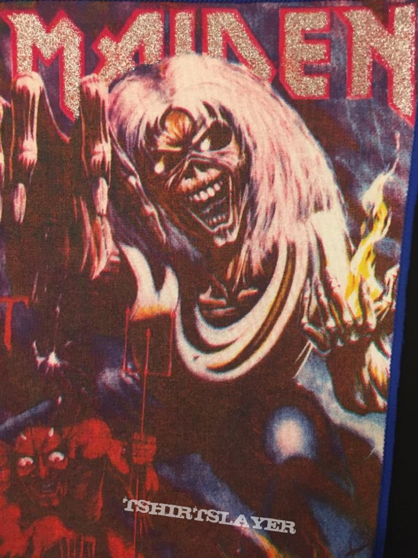 Iron Maiden - Number of the Beast - Back Patch (Version 2)
