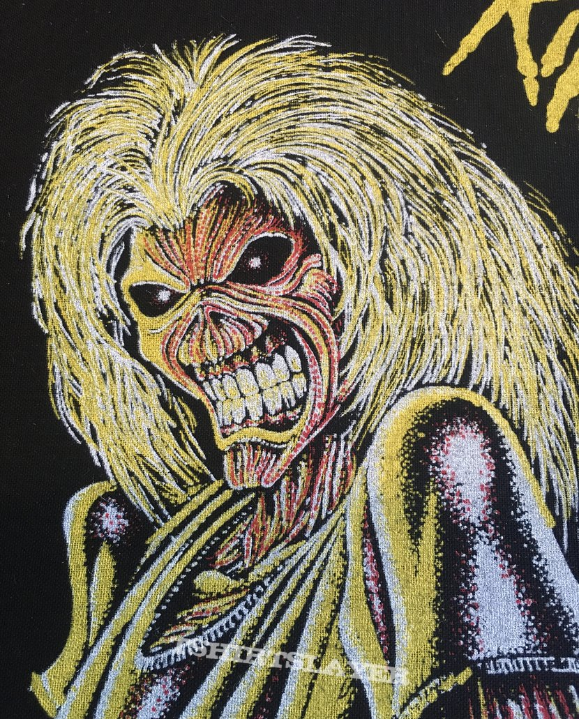 Iron Maiden - Killers - Back Patch (Bootleg Version 2)