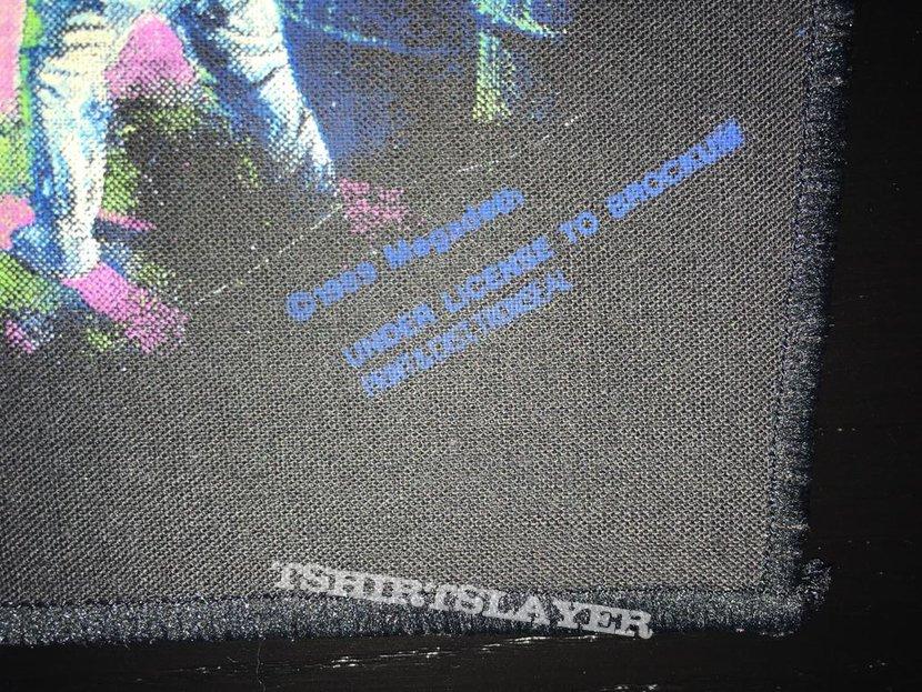 Megadeth - No More Mr. Nice Guy - Back Patch