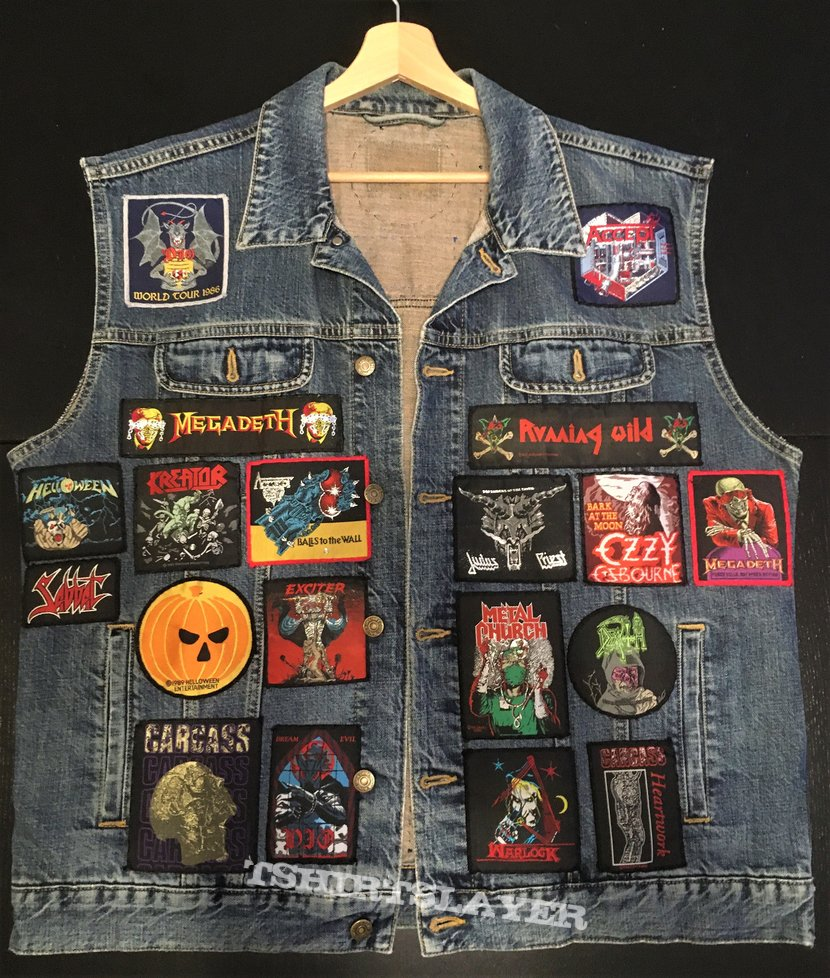 Battle Vest - Classic Patches only (Vest nr. 1)