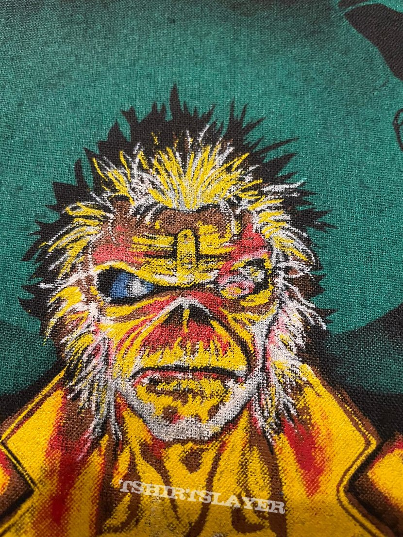 Iron Maiden - 7th Son of a 7th Son - Back Patch 1988 (Yellow Version)