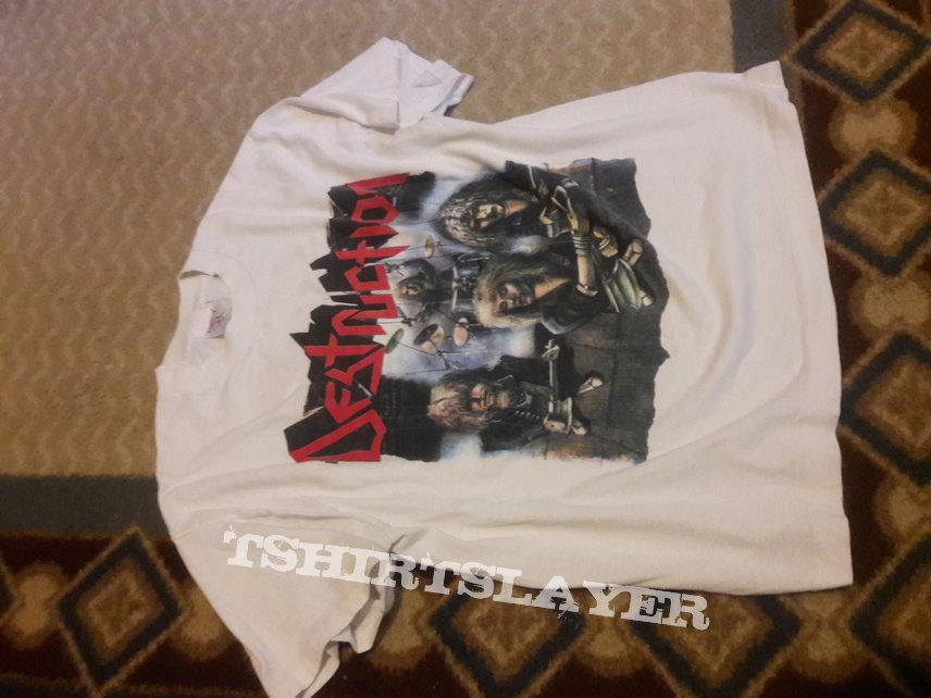 Destruction Live Without Sense 80s Shirt