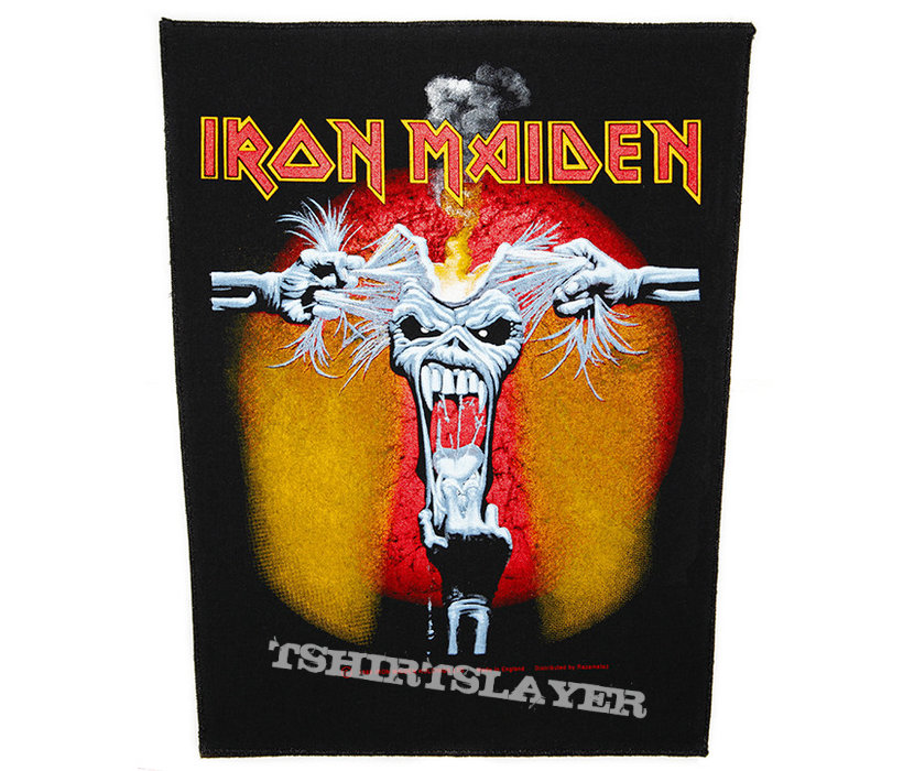 Iron Maiden - Eddie ripped head - official backpatch