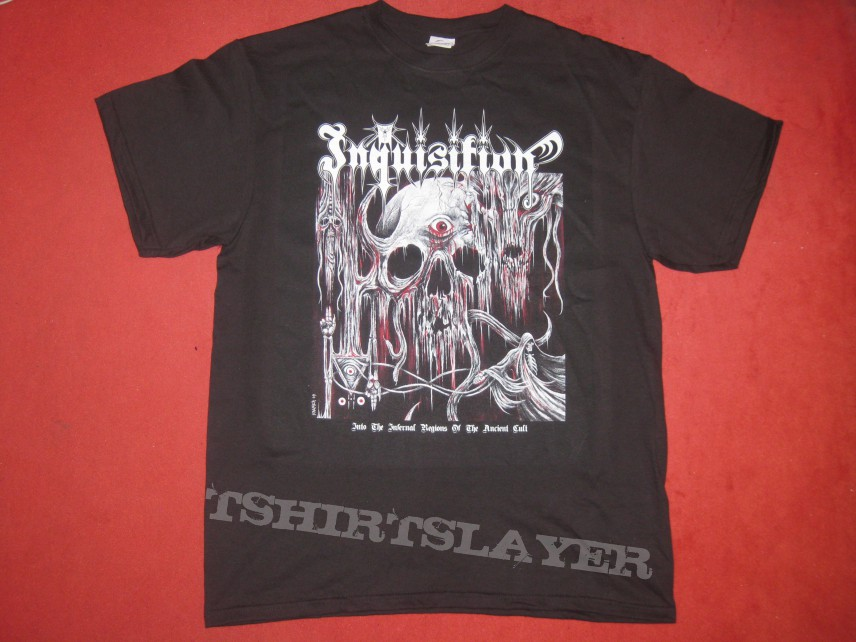 TShirt or Longsleeve - Inquisition - Into The Infernal Regions Of The Ancient Cult