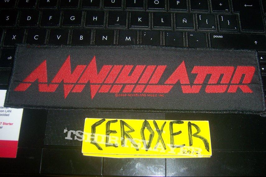 Annihilator strip patch