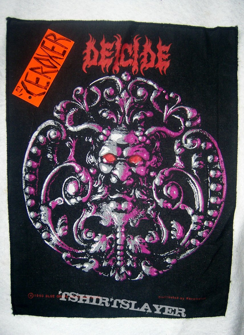 deicide medallion backpatch