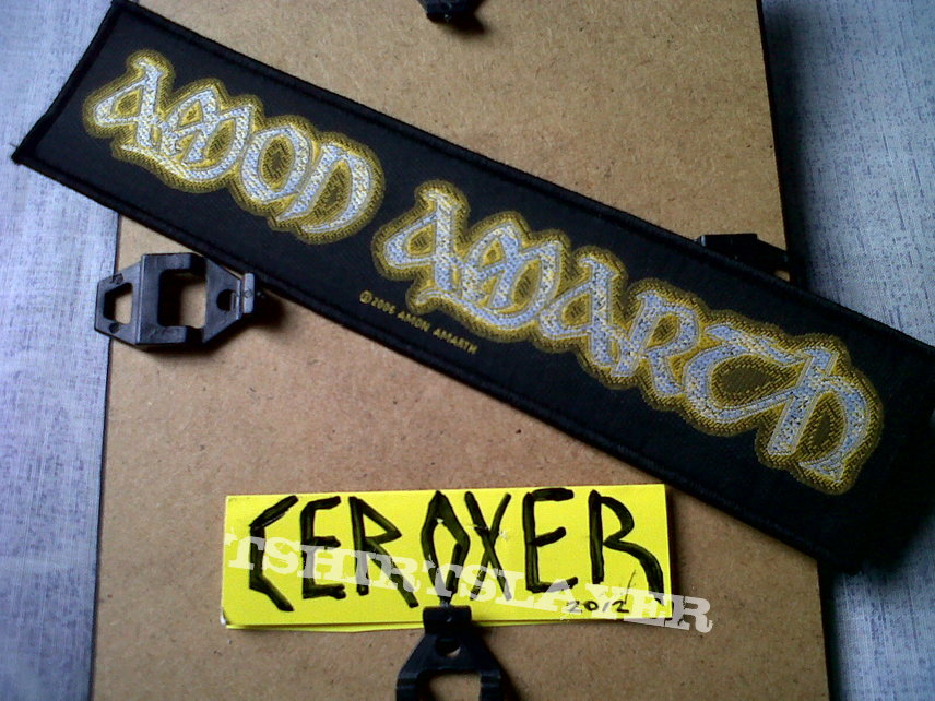 amon amarth Strip Patch