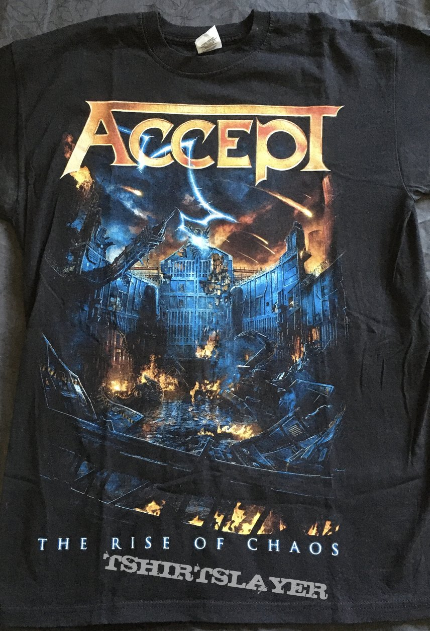 Accept - The Rise of Chaos - World Tour 2017/ 2018