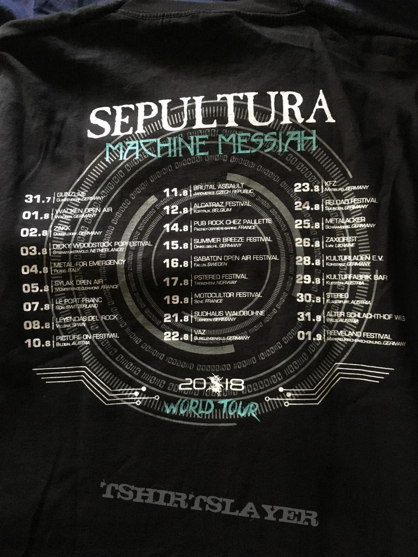Sepultura - Machine Messiah Tour - T-shirt