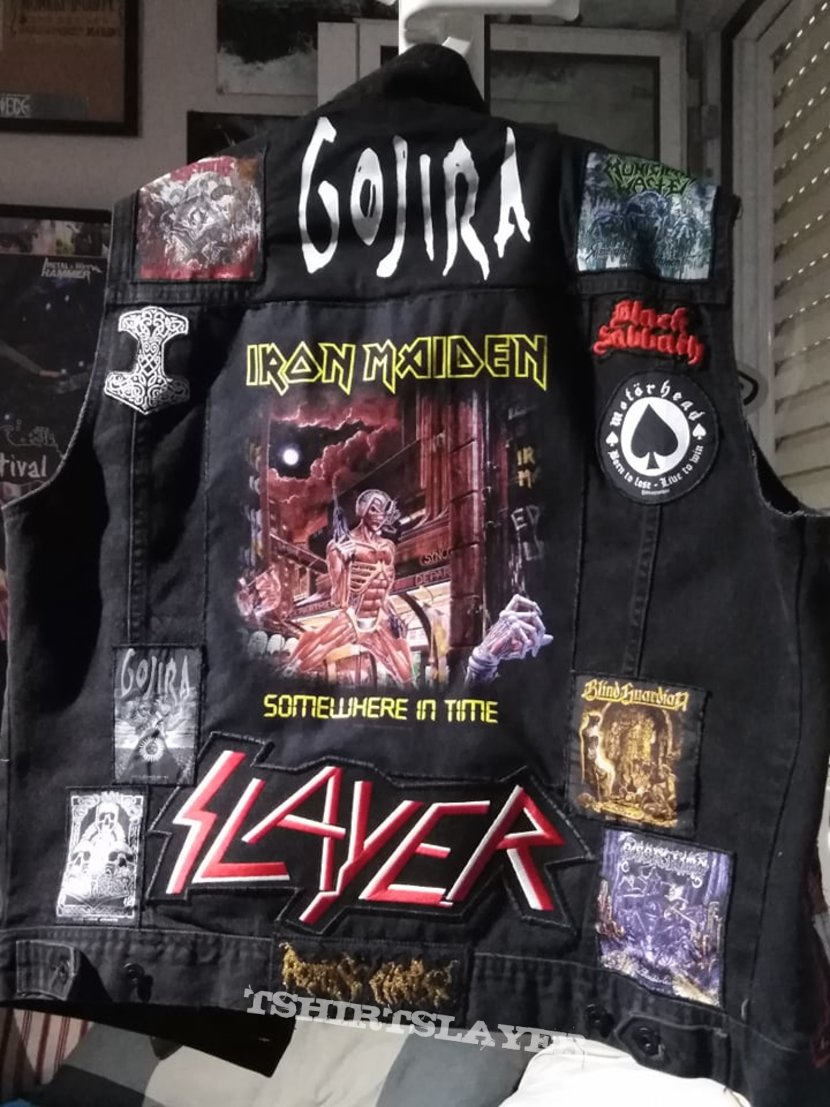 Almost finished with my battle jacket (update #3)