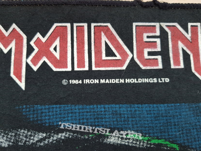 2 Minutes To Midnight vintage backpatch