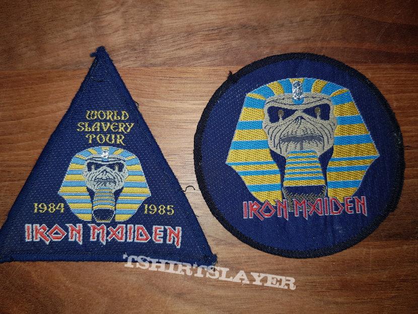 Iron Maiden - Powerslave & World Slavery Tour - Patches
