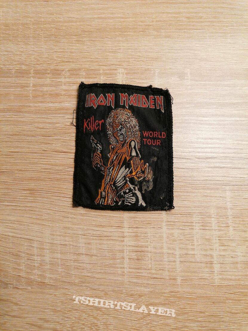 Iron Maiden - Killer World Tour - patch