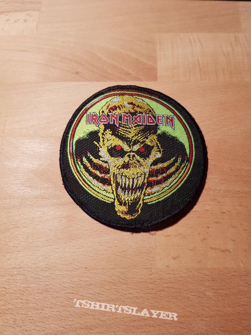 Iron Maiden - Live Donington - vintage patch