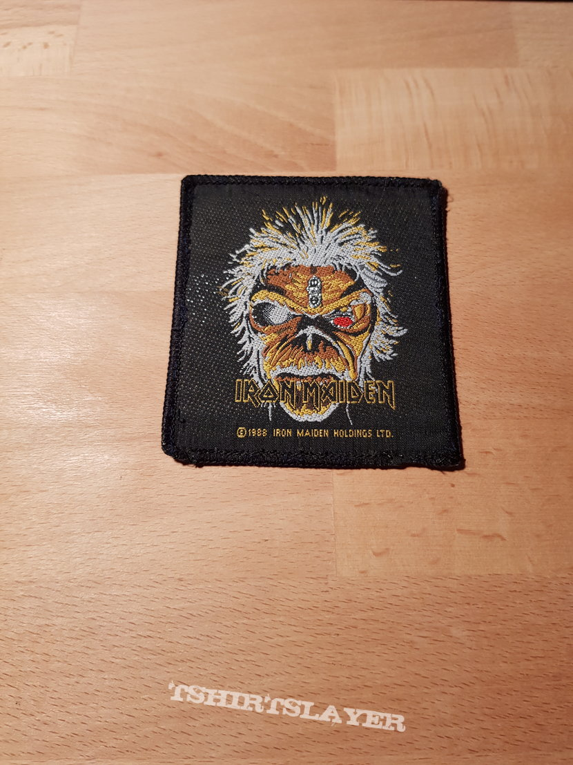 Iron Maiden - The Clairvoyant - vintage patch