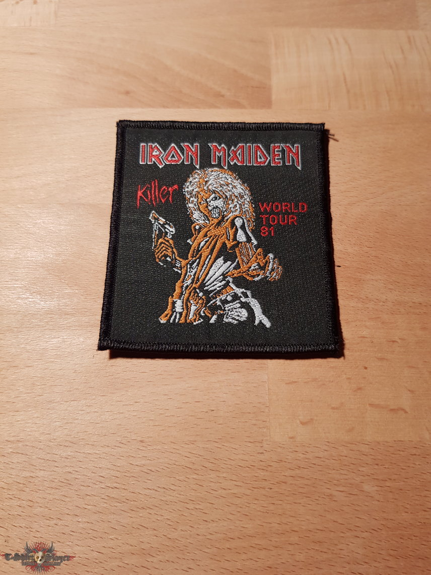 Iron Maiden - Killer World Tour 81 - vintage patch