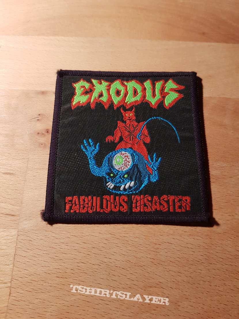 Exodus - Fabulous Disaster - patch