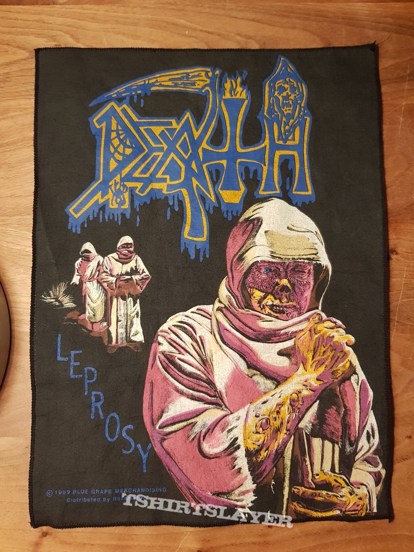 Death - Leprosy - backpatch