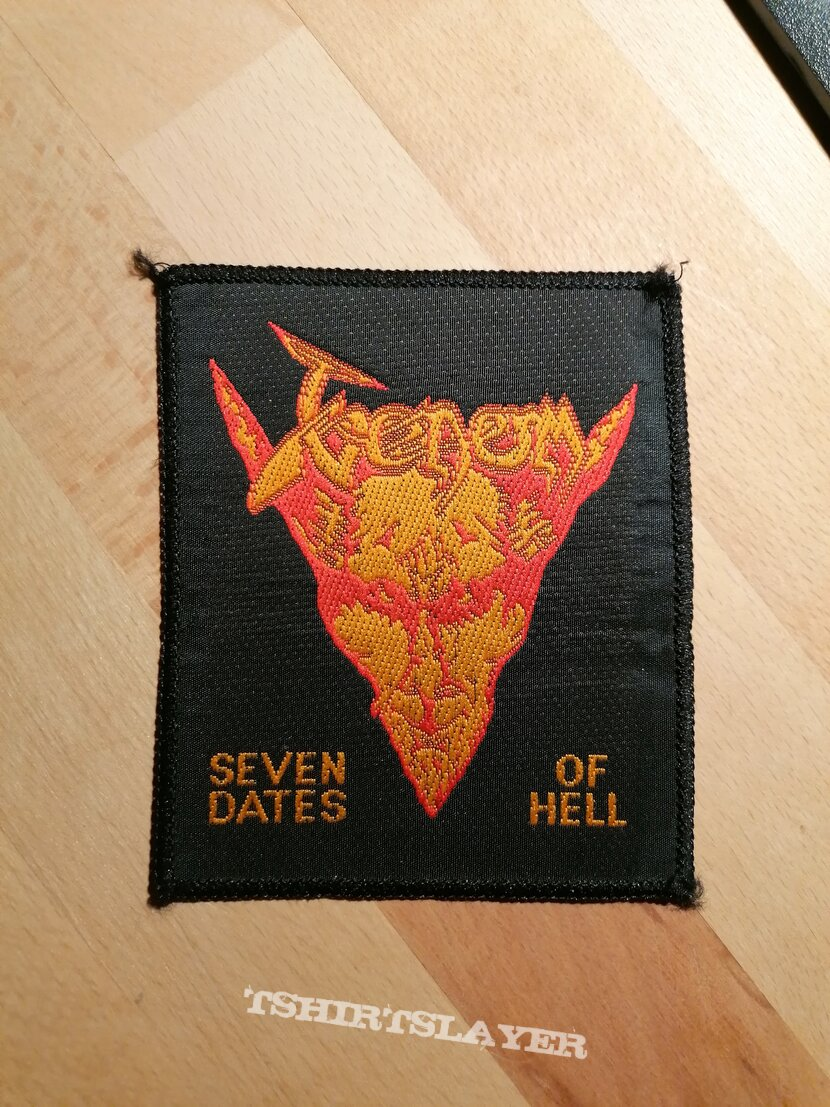 Venom - Seven Dates Of Hell - patch