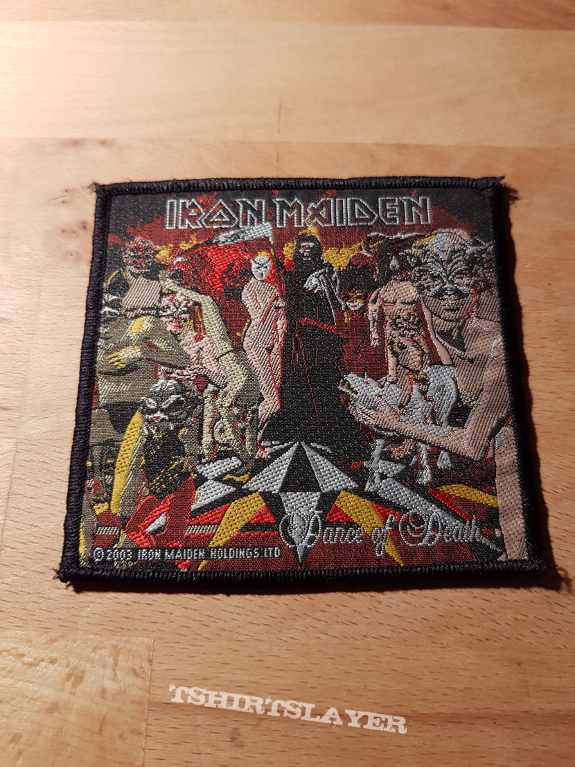 Iron Maiden - Dance Of Death - patch