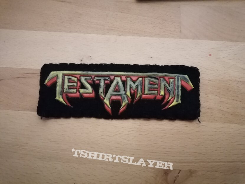 Testament - Logo - rubber patch