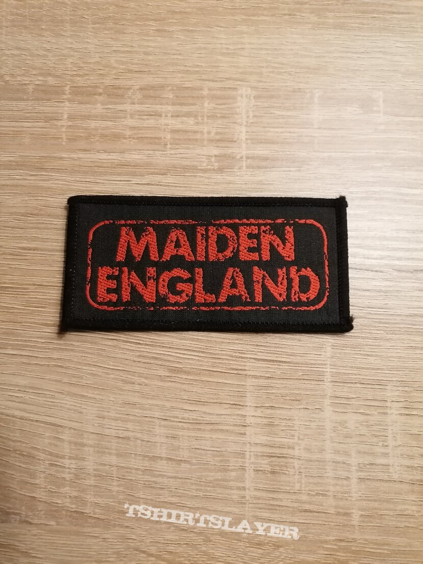 Iron Maiden - Maiden England - patch