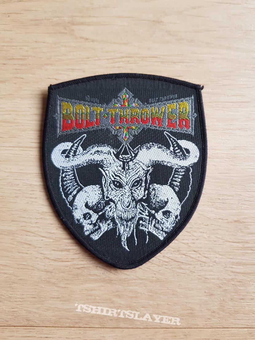 Bolt Thrower - Cenotaph - shield patch