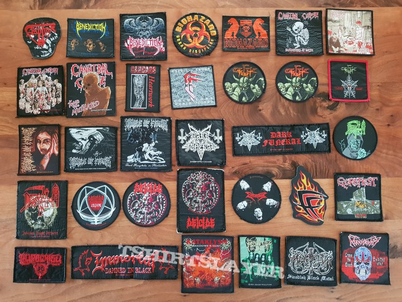 Patches for you!! -> Death Metal