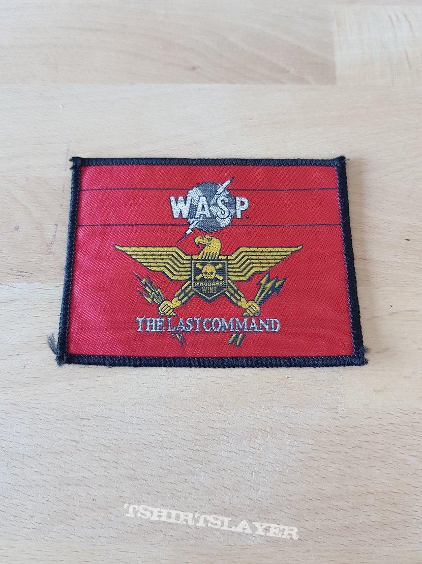 W.A.S.P. - The Last Command - vintage patch