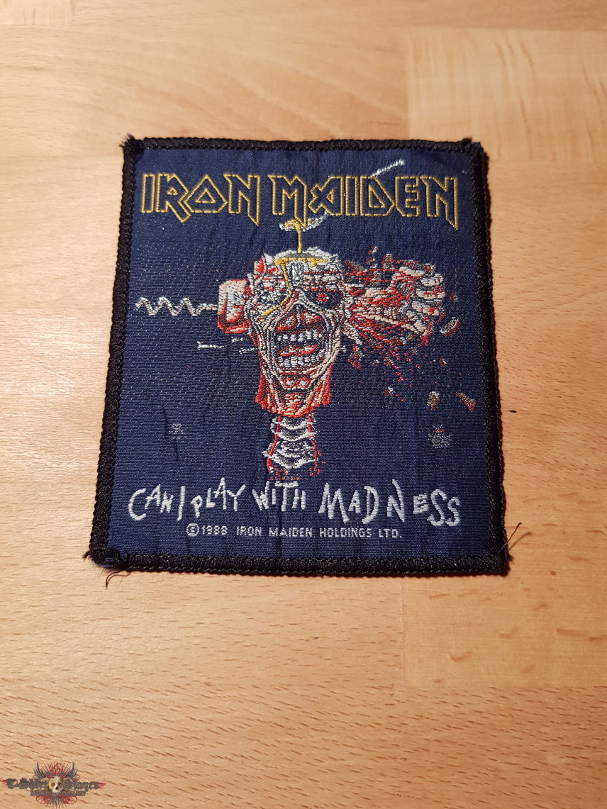 Iron Maiden - Can I Play With Madness - vintage patch
