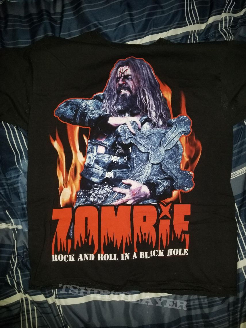 "Rob Zombie ""Venomous Rat"" tour shirt"