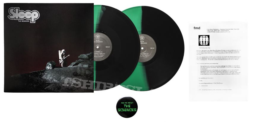 Sleep - The Sciences (Limited Green/Black Split Vinyl