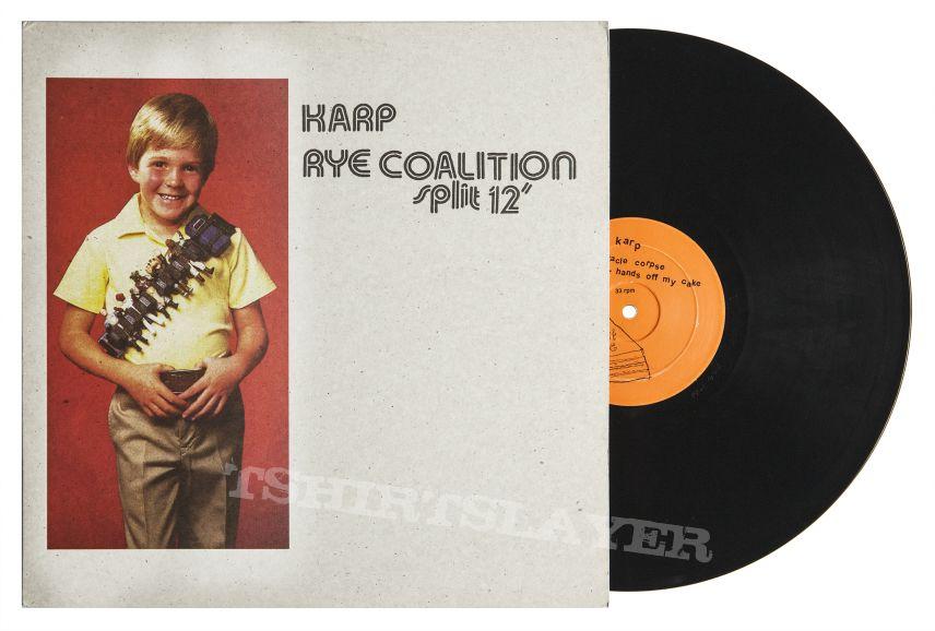 Karp / Rye Coalition Split LP
