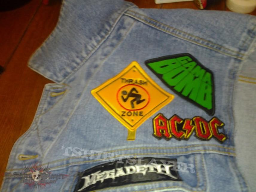 Battle Jacket - Kutte progress so far.  *UPDATE  #2 new patches on*
