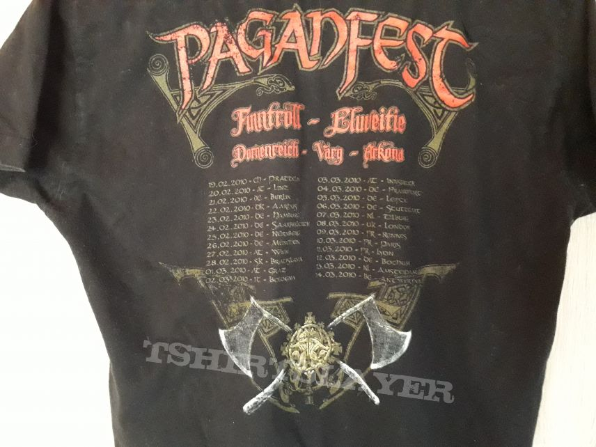 Paganfest T-Shirt, Concert evening | TShirtSlayer TShirt and