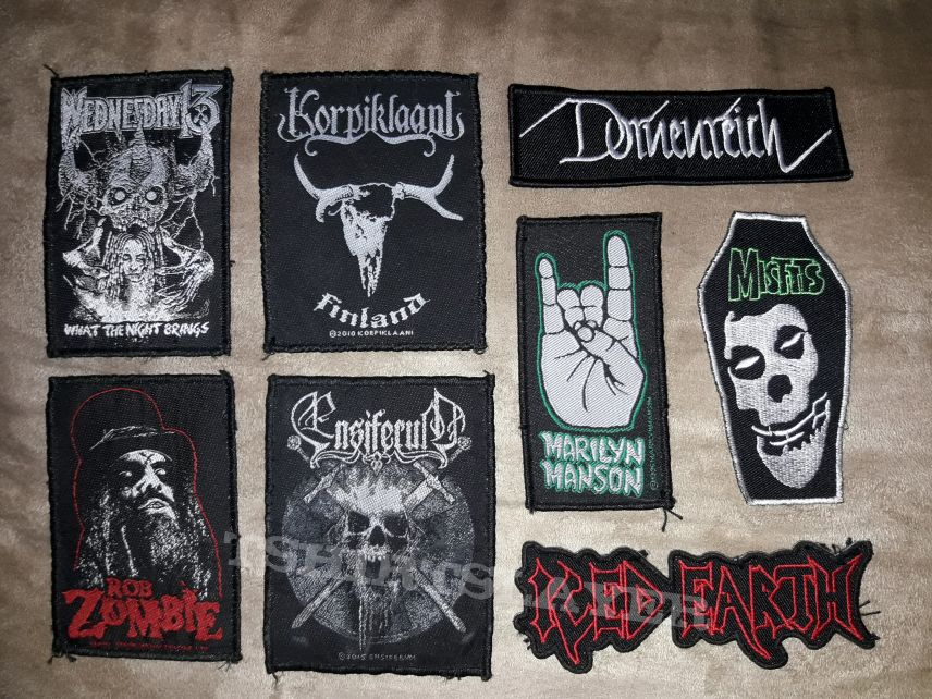 Some patches for my vest