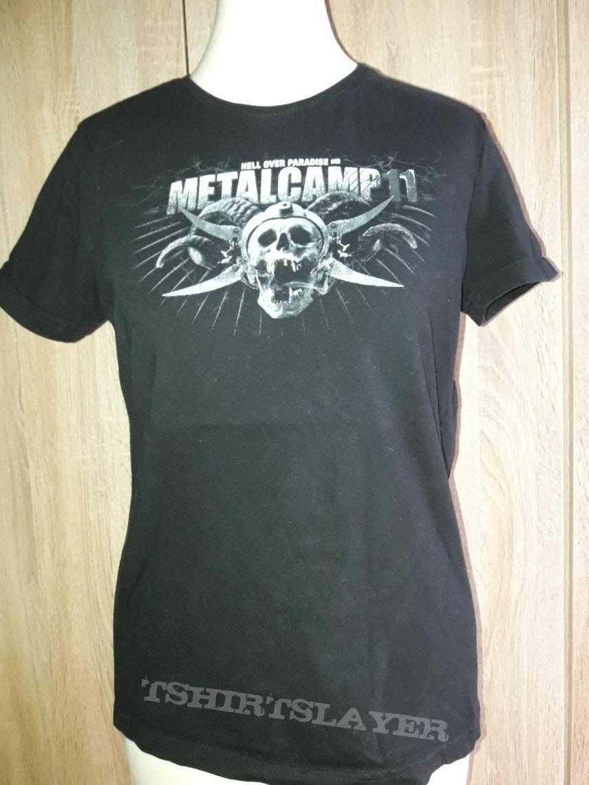 Metalcamp 11 Festival Shirt Girlie M