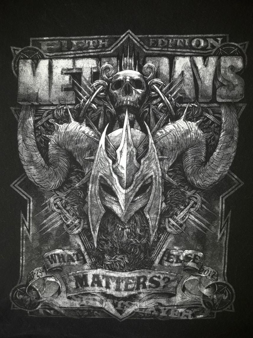 Metaldays 17 Festival Shirt M