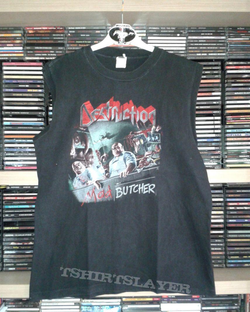 Destruction - Mad Butchered muscle shirt