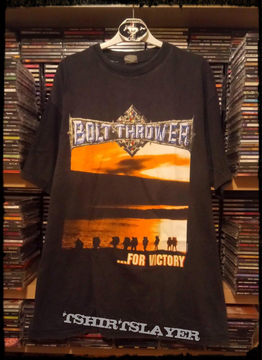 635bd4f8 Bolt Thrower ...For Victory | TShirtSlayer TShirt and BattleJacket ...