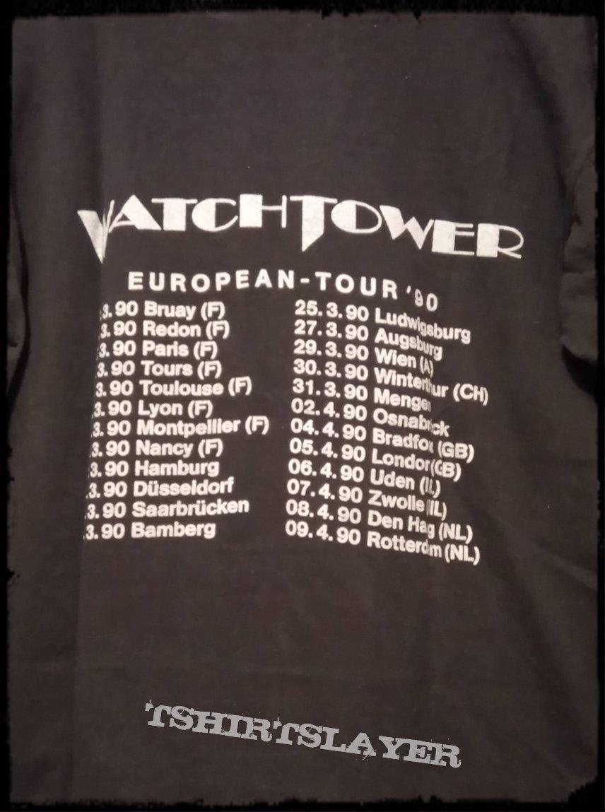 Watchtower - 1990 European tour shirt