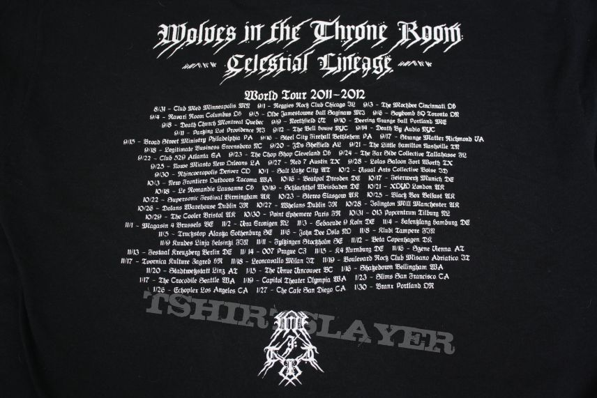 TShirt or Longsleeve - Wolves In The Throne Room World Tour 2011-2012