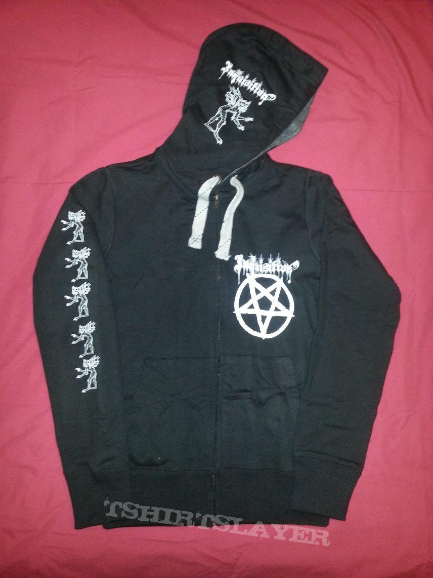 TShirt or Longsleeve - Inquisition - My Flesh for Satan Hoodie