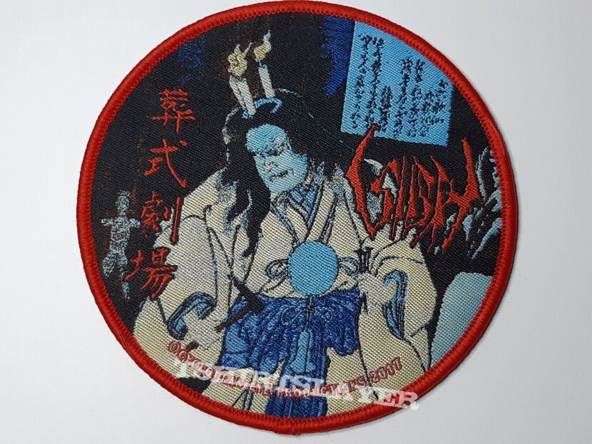 Sigh - Ghastly Funeral Thetre patch