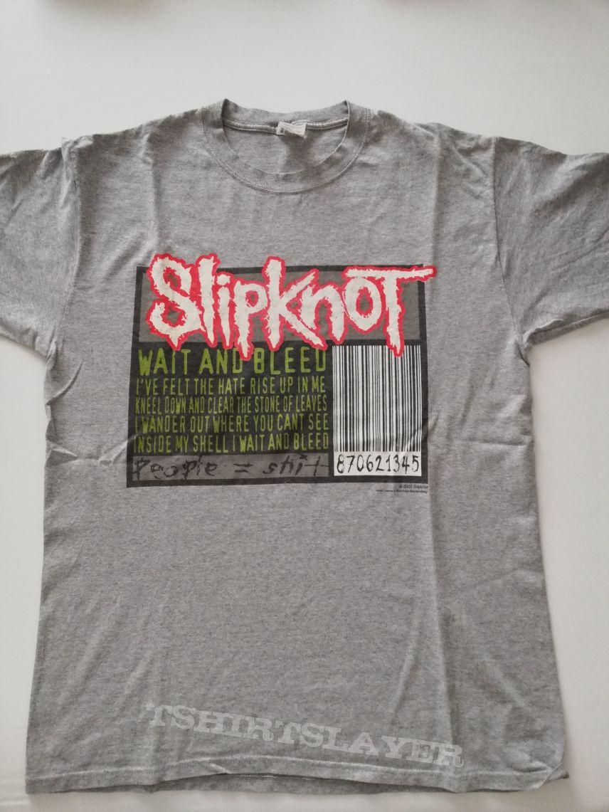 Slipknot Wait and Bleed Blue Grape Shirt | TShirtSlayer TShirt and