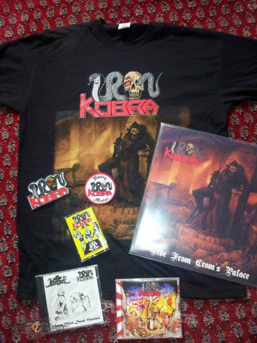 TShirt or Longsleeve - My small Iron Kobra Collection